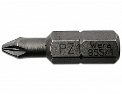 Bit PZ1 - 25mm, WERA