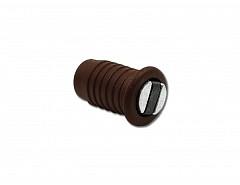 Magnet nábytkový závrtný, hnědá, průměr 9mm