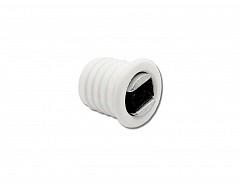 Magnet nábytkový závrtný, bílá, průměr 14mm