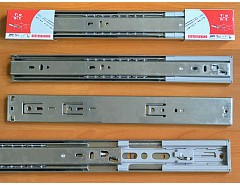 Kuličkový plnovýsuv dotah SOFT 400mm Zn 45mm