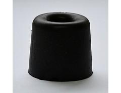 Gumová zarážka dveří průměr 25mm,výška 25mm (015031)