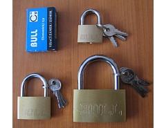 Visací zámek 9235-E Ms BULL 4,5/20 3kl.
