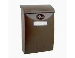 ABS HNĚDÁ pošt.schránka 240x345x102 LTP1