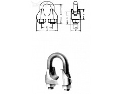 Lanová svorka M8 Zn (č.1)