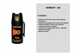Pepřový-KO FOG sprej 40 ml, BALLISTOL 24420