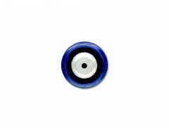 Rolna N.D. - kolečko transportní modré guma průměr 80x35