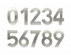 """Číslice """"9"""" fasádní 200mm NEREZ"""