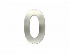 """Číslice """"0"""" fasádní 150mm NEREZ"""
