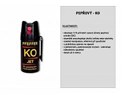 Pepřový-KO JET+ sprej 40 ml, BALLISTOL 24420