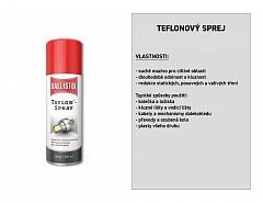 Teflon sprej 200 ml, BALLISTOL 25611