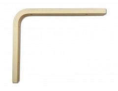 Konzola dřevěná 200x250x18mm