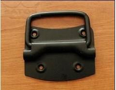 Rukojeť sklopná černý lak základna 85x65mm V 50mm