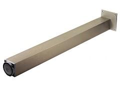 Noha stolová s regulací 60x60x1100 Cr