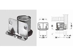 Regulační nožka H3cm zinek