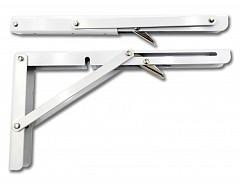 Konzola sklopná 300x155x1,5mm BÍLÁ