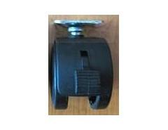 Kolečko ROL-N 50-kovová plotýnka+brzda TWP50B