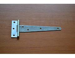 Závěs dveřní vrchní T 150x70mm BZn