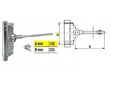 Pružinový zavírač dveřní 40kg F1-91/2 (032029)