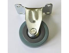 Kolečko 100x26 pevné šedá guma 55 kg