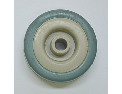 Rolna N.D. - kolečko šedá guma průměr 100x26