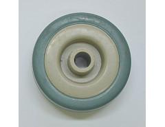Rolna N.D. - kolečko šedá guma průměr 120x27