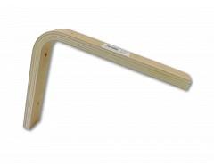 Konzola dřevěná 200x250x36mm tl.15mm