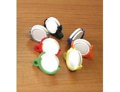 Žeton na 2 mince barevný mix 200ks (019415)