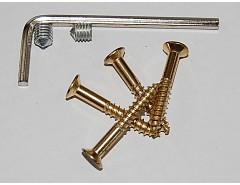 Červík(2ks)M5x6,klíč,4xvrut Ms